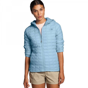 The North Face Women's ThermoBall Eco Hoodie - Medium - Angel Falls Blue Matte
