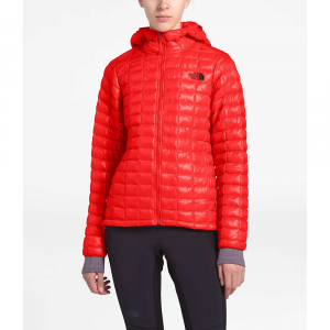 The North Face Women's ThermoBall Eco Hoodie - Medium - Fiery Red