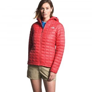 The North Face Women's ThermoBall Eco Hoodie - Small - Cayenne Red Matte