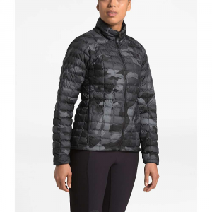 The North Face Women's ThermoBall Eco Jacket - Large - TNF Black Waxed Camo Print
