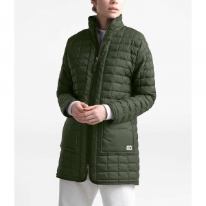 The North Face Women's ThermoBall Eco Long Jacket - XS - New Taupe Green Heather