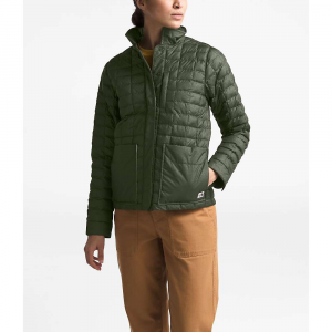 The North Face Women's ThermoBall Eco Snap Jacket - Large - New Taupe Green Heather / British Khaki