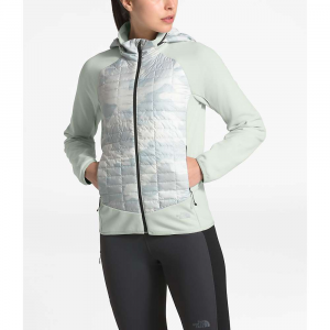 The North Face Women's ThermoBall Hybrid Jacket - Small - Tin Grey / TNF White Waxed Camo Print