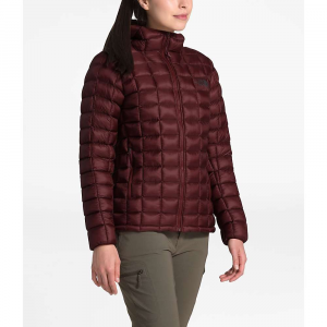 The North Face Women's ThermoBall Super Hoodie - Large - Deep Garnet Red / Deep Garnet Red