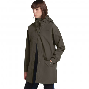 The North Face Women's Woodmont Rain Jacket - Medium - New Taupe Green