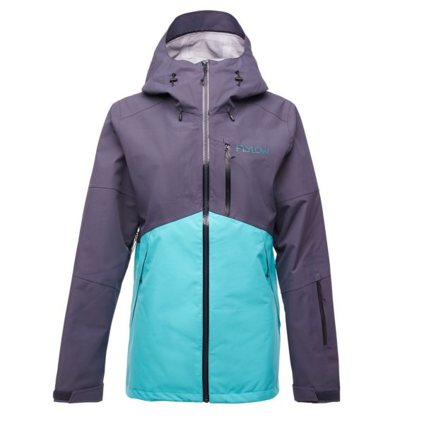 Women's Flylow Billie Coat 2021 - X-Small Blue | Polyester