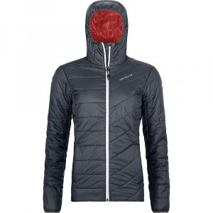 Ortovox Women's Swisswool Piz Bernina Jacket - Medium - Black Steel