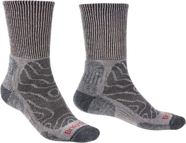 Bridgedale Men's Hike Lightweight Pattern Boot Socks