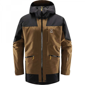 Haglofs Men's Lumi Insulated Jacket - Large - Teak Brown / True Black