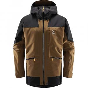 Haglofs Men's Lumi Insulated Jacket - Medium - Teak Brown / True Black