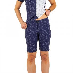 Shebeest Women's Skinny Americano Plus Size Short - 1X - In Flight / Navy
