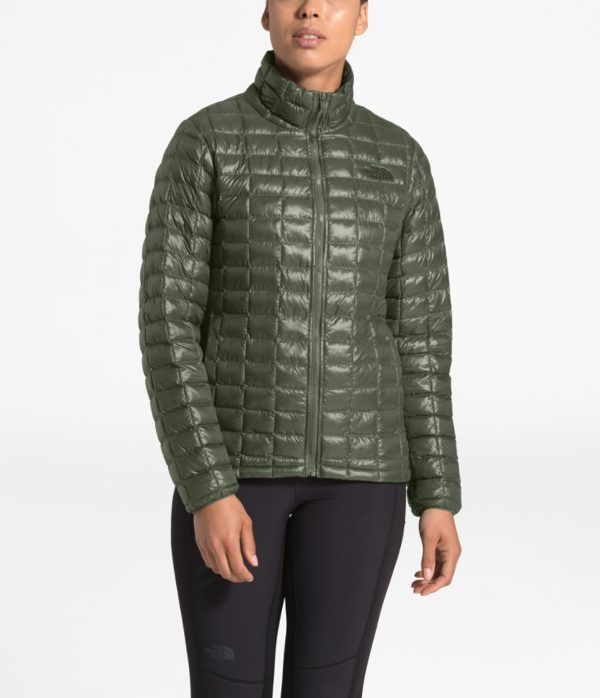 The North Face Women's ThermoBall Eco Insulated Jacket - New Taupe Green