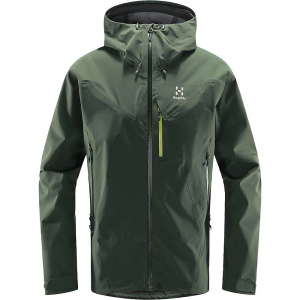 Haglofs Men's L.I.M Touring Proof Jacket - Small - Fjell Green