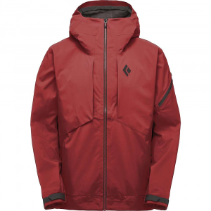 Black Diamond Men's Mission Shell Jacket - Small - Red Oxide