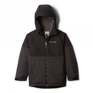 Columbia Boys' Alpine Action II Jacket - XXS - Black Heather/Black