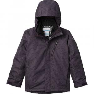 Columbia Boys' Whirlibird II Interchange Jacket - Small - Dark Purple Crackle Print