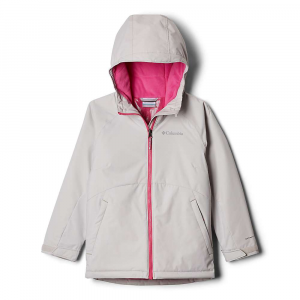 Columbia Girls' Alpine Action II Jacket - Large - Silver Grey