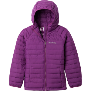 Columbia Powder Lite Insulated Hooded Jacket - Girls'