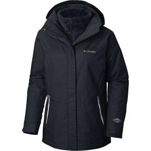 Columbia Women's Bugaboo II Fleece Interchange Jacket - Small - Black / White / Black