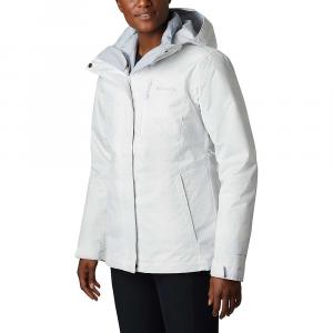 Columbia Women's Whirlibird IV Interchange Jacket - Medium - White Simple Lines Print / Cirrus Grey