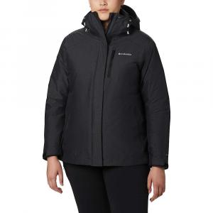 Columbia Women's Whirlibird IV Interchange Jacket - XS - Black Crossdye / Black