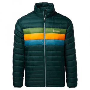 Cotopaxi Men's Fuego Down Jacket - Small - Dark Forest Stripes