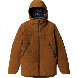 Mountain Hardwear Men's Direct North GTX Windstopper Down Jacket - Medium - Golden Brown