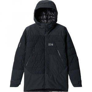 Mountain Hardwear Men's Direct North GTX Windstopper Down Jacket - Small - Dark Storm