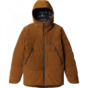 Mountain Hardwear Men's Direct North GTX Windstopper Down Jacket - Small - Golden Brown