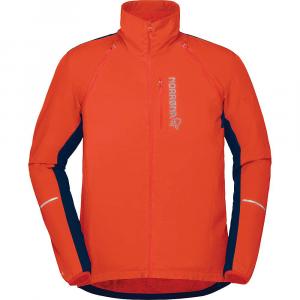 Norrona Men's Fjora Convertible Alpha60 Jacket - Large - Pureed Pumpkin