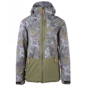Obermeyer Men's Chandler Shell Jacket - Large Regular - Off-Duty Camo