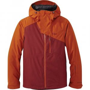 Outdoor Research Men's Tungsten Jacket - Medium - Madder / Umber