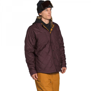The North Face Men's Fort Point Insulated Flannel Jacket - Medium - Root Brown / Timber Tan Plaid