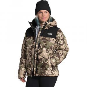 The North Face Women's Balham Down Jacket - XS - Burnt Olive Green Digi Topo Print