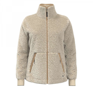 The North Face Women's Campshire Full Zip Jacket - Large - Bleached Sand / Hawthorne Khaki