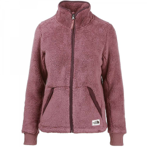 The North Face Women's Campshire Full Zip Jacket - Large - Marron Purple / Root Brown