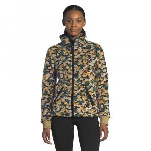 The North Face Women's Campshire Full Zip Jacket - Medium - Aviator Navy Retro Floral Print