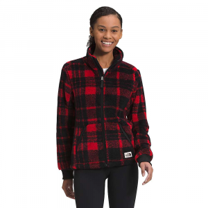 The North Face Women's Campshire Full Zip Jacket - Medium - TNF Red Holiday 2 Plaid Flc Print