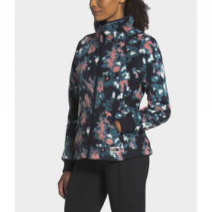 The North Face Women's Campshire Full Zip Jacket - Small - Mallard Blue Abstract Ikat Flc Print