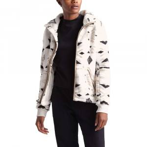 The North Face Women's Campshire Full Zip Jacket - XL - Vintage White California Geo Print