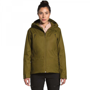 The North Face Women's Clementine Triclimate Jacket - Large - Fir Green / Morning Pink