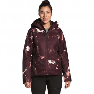 The North Face Women's Clementine Triclimate Jacket - Small - Root Brown Ice Caps Print / Marron Purple