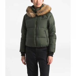 The North Face Women's Dealio Down Crop Jacket - Small - New Taupe Green