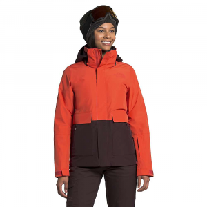 The North Face Women's Garner Triclimate Jacket - Medium - Flare / Root Brown / Root Brown Heather