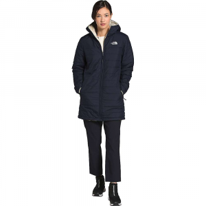The North Face Women's Mossbud Insulated Reversible Parka - XS - Aviator Navy / Vintage White