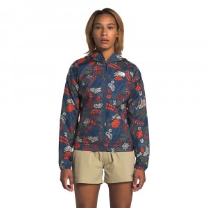 The North Face Women's Printed Cyclone Jacket - XS - Shady Blue Wallflower Print