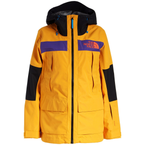 Women's The North Face Team Kit Jacket 2021 - X-Large Yellow in Blue